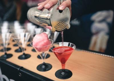 Drinky na bázi cukrové vaty
